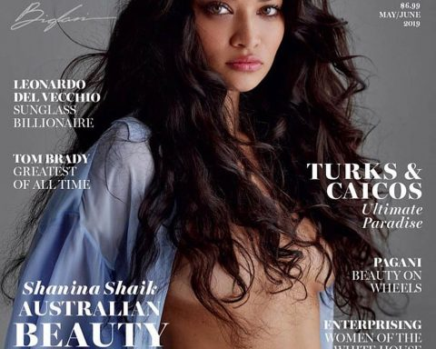 Shanina Shaik covers Maxim US May June 2019 by Gilles Bensimon