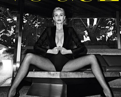 Sharon Stone covers Vogue Portugal May 2019 by Branislav Simoncik