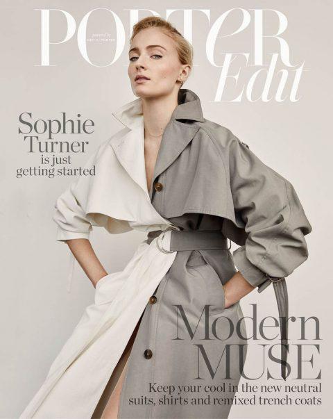 Sophie Turner covers Porter Edit May 31st, 2019 by Yelena Yemchuk