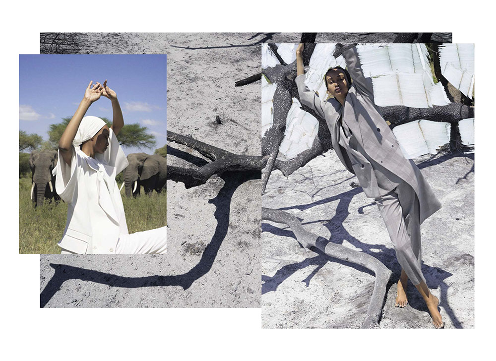 Ugbad Abdi by Viviane Sassen for Vogue Italia May 2019
