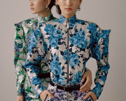 Wangy and Chunjie Liu by Zoltan Tombor for Vogue Hong Kong May 2019