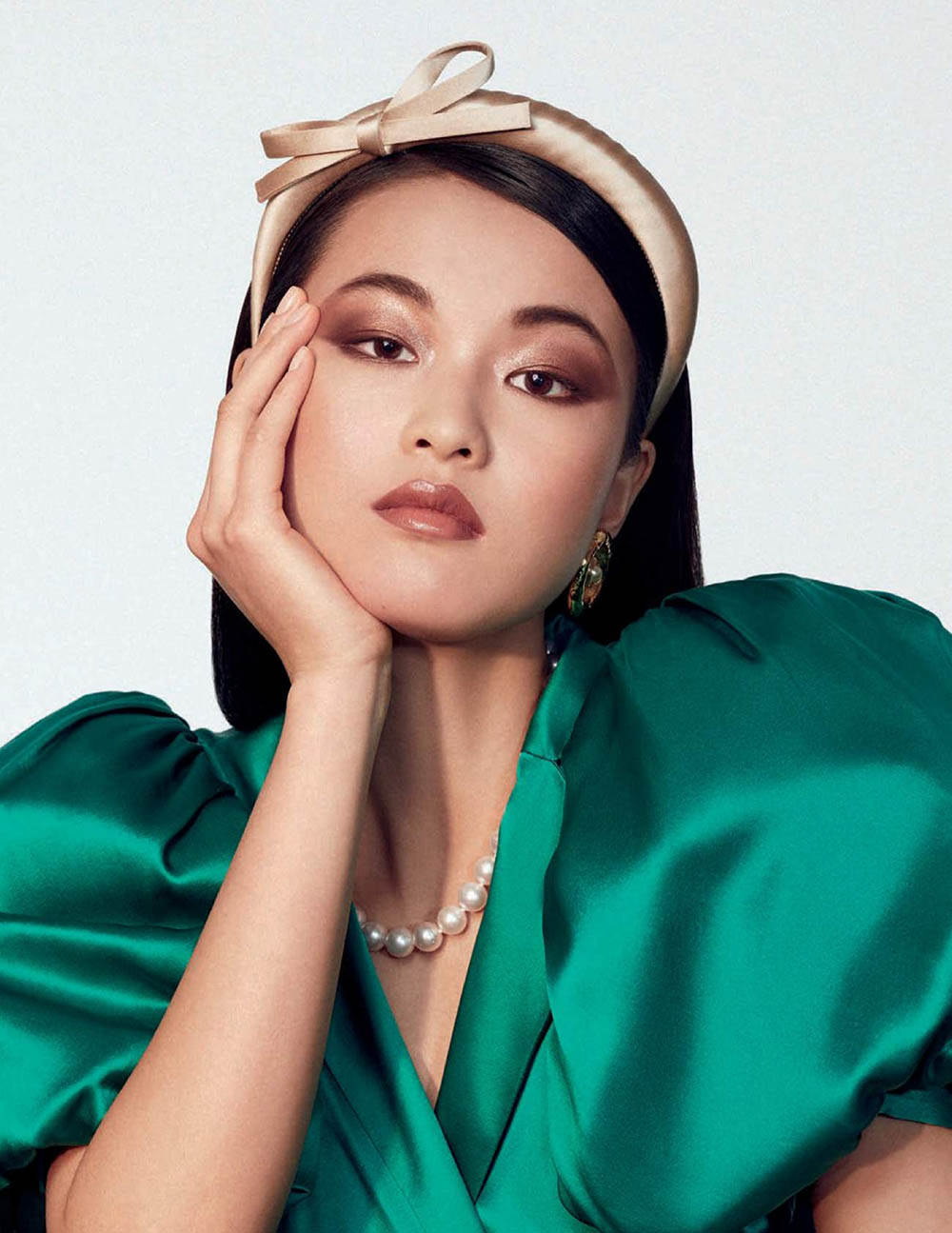 Xin Xie by Felix Valiente for Vogue Spain May 2019