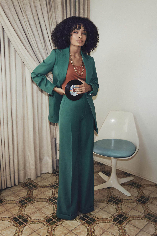 Yara Shahidi covers Porter Magazine Summer 2019 by Cass Bird