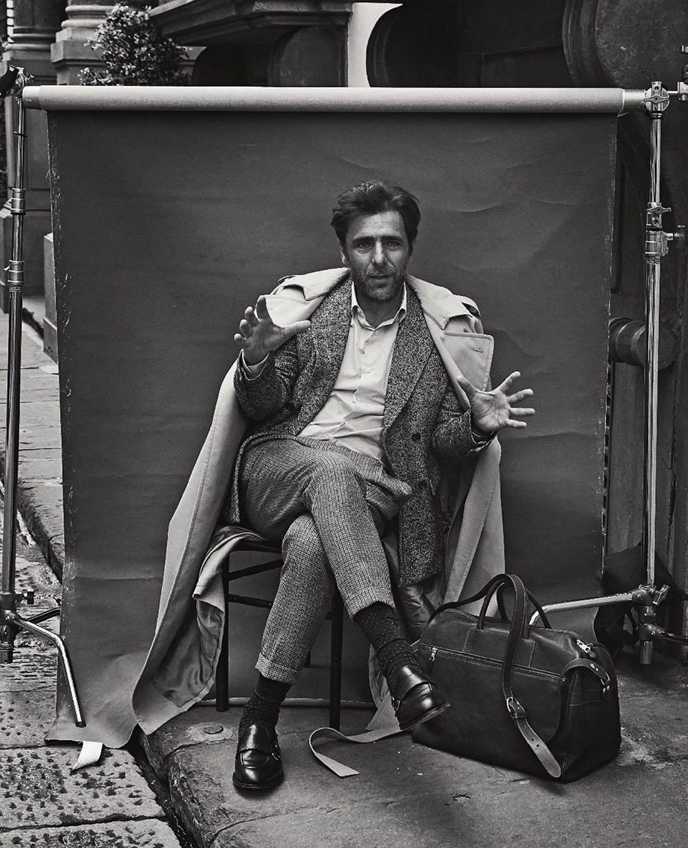 Adriano Giannini covers Esquire Italia June 2019 by Lorenzo Bringheli