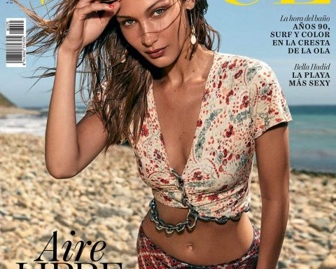Bella Hadid covers Vogue Spain June 2019 by Zoey Grossman