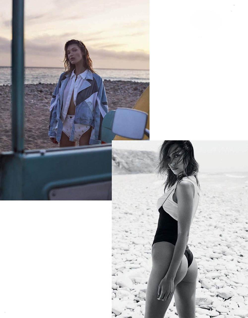 Bella Hadid covers Vogue Spain June 2019 by Zoey Grossman