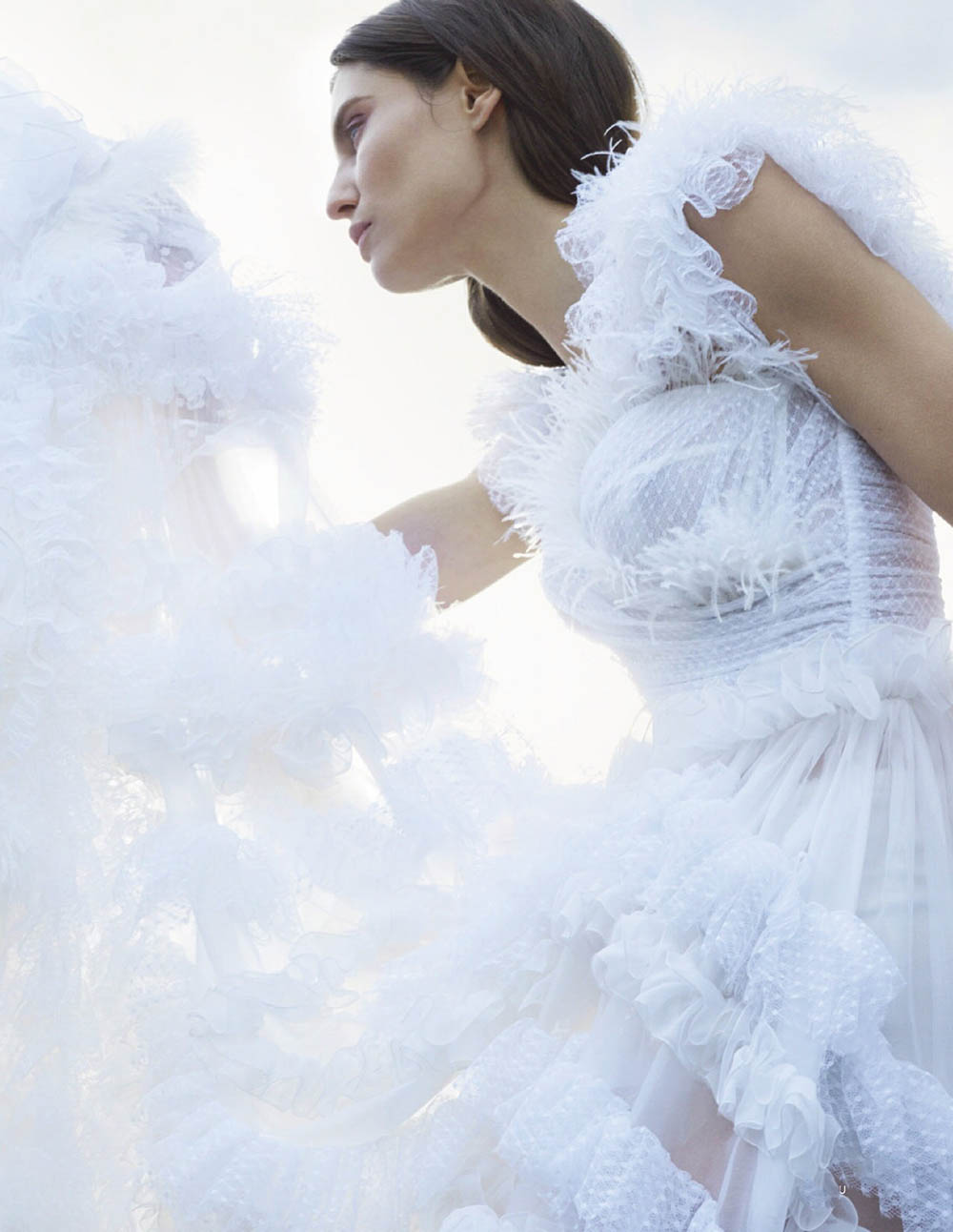 Bianca Balti covers Elle Russia June 2019 by Kerry Hallihan