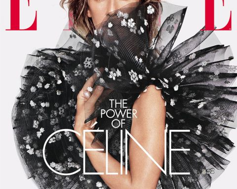 Céline Dion covers Elle US June 2019 by Tom Munro
