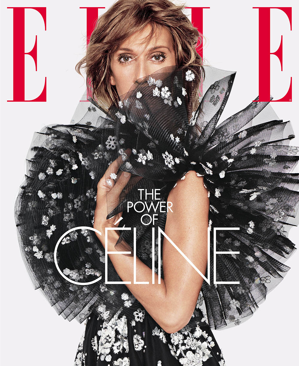 Céline Dion covers Elle US June 2019 by Tom Munro