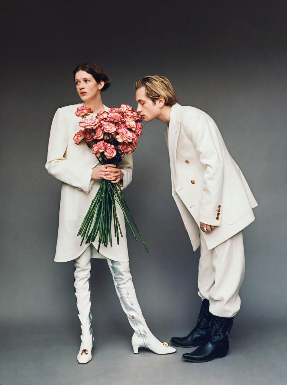 ''C'est Le Bouquet'' by Jonathan Frantini for GQ France June 2019