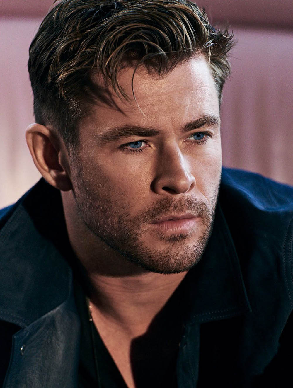 Chris Hemsworth covers GQ Spain June 2019 by Matthew Brookes