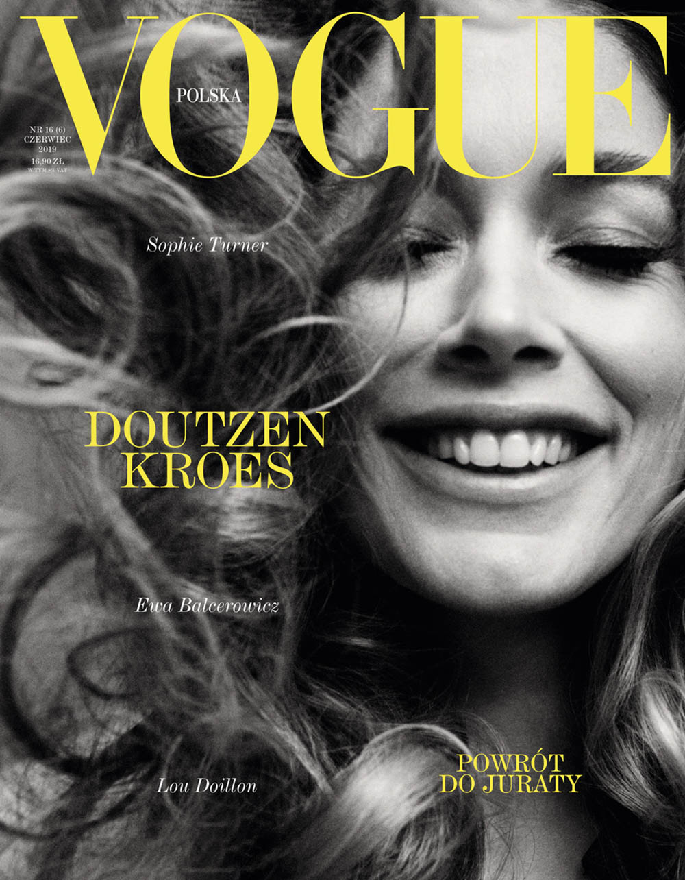 Doutzen Kroes covers Vogue Poland June 2019 by Daniel Jackson