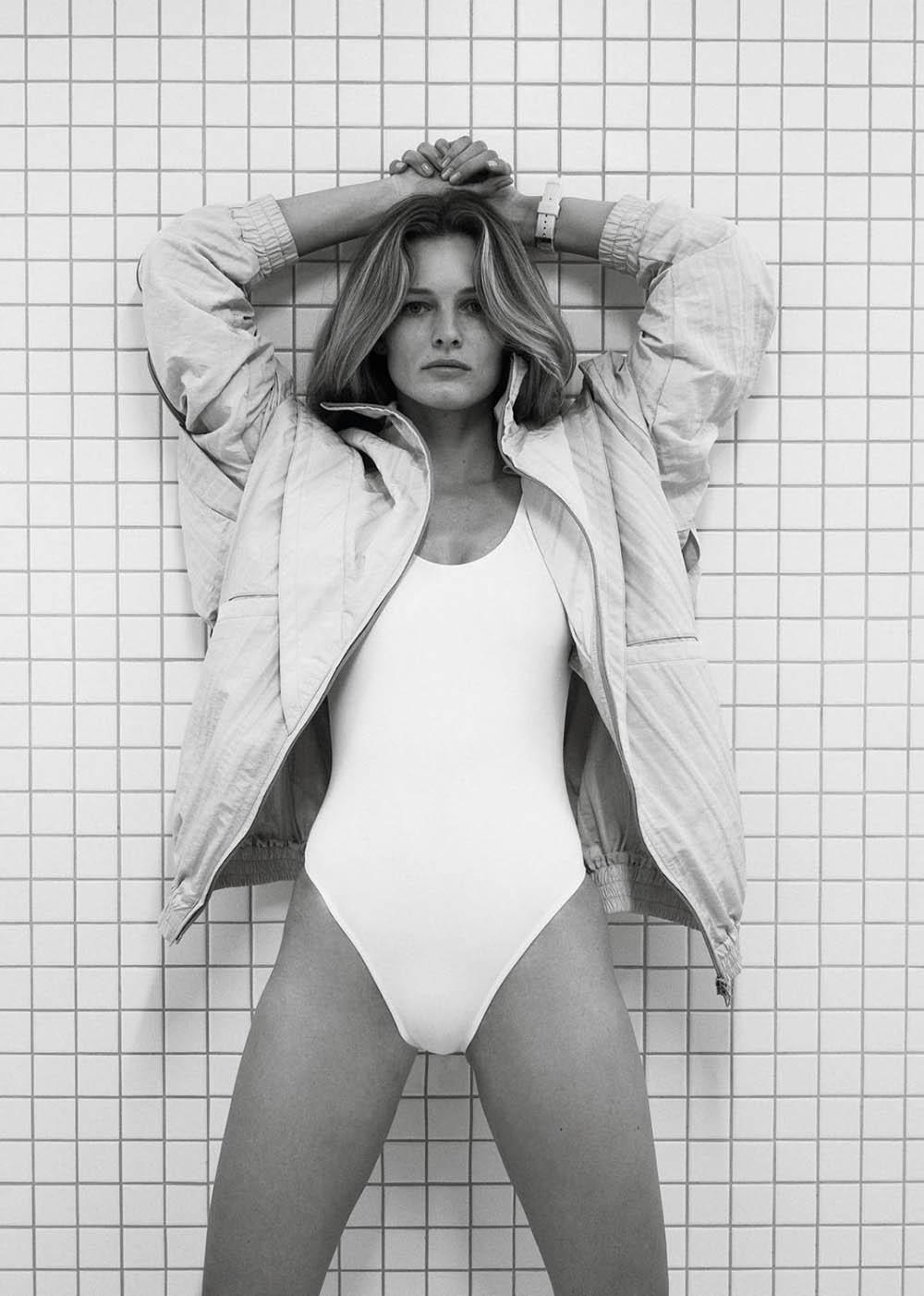Edita Vilkeviciute by Bibi Cornejo Borthwick for Vogue Paris June July 2019