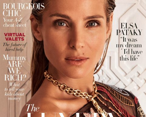 Elsa Pataky covers Harper's Bazaar Australia June July 2019 by Pierre Toussaint