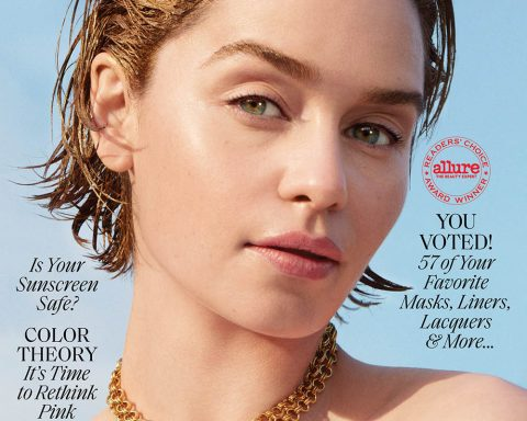 Emilia Clarke covers Allure June 2019 by Marcus Ohlsson
