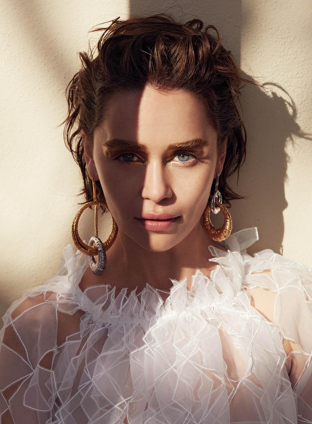 Emilia Clarke covers Allure June 2019 by Marcus Ohlsson