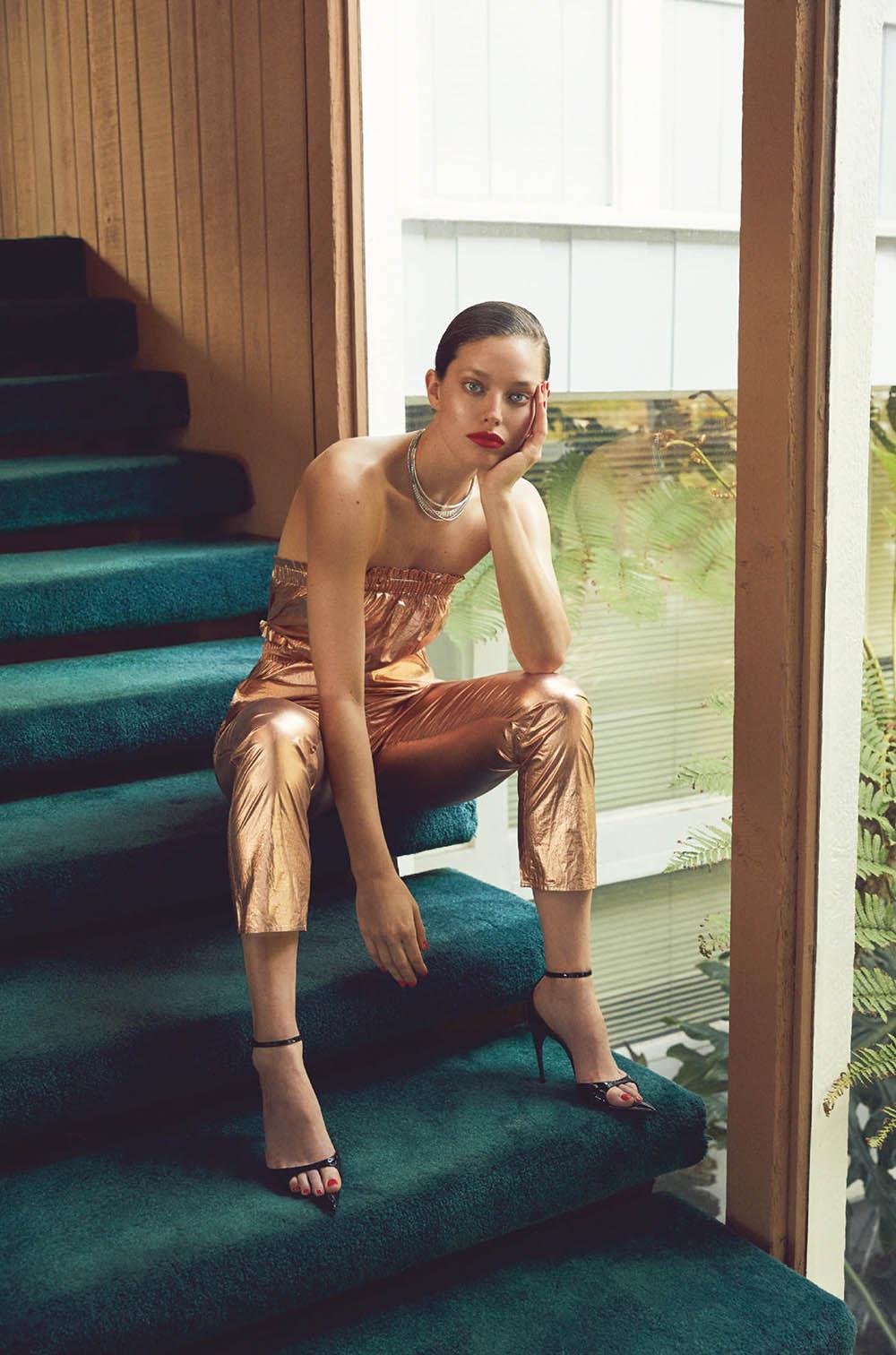 Emily DiDonato covers Numéro Tokyo June 2019 by Zoey Grossman