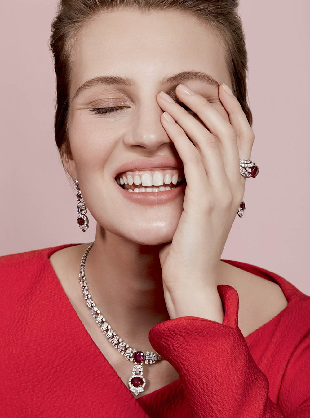 Florence Kosky by Lara Jade for Harper's Bazaar UK June 2019