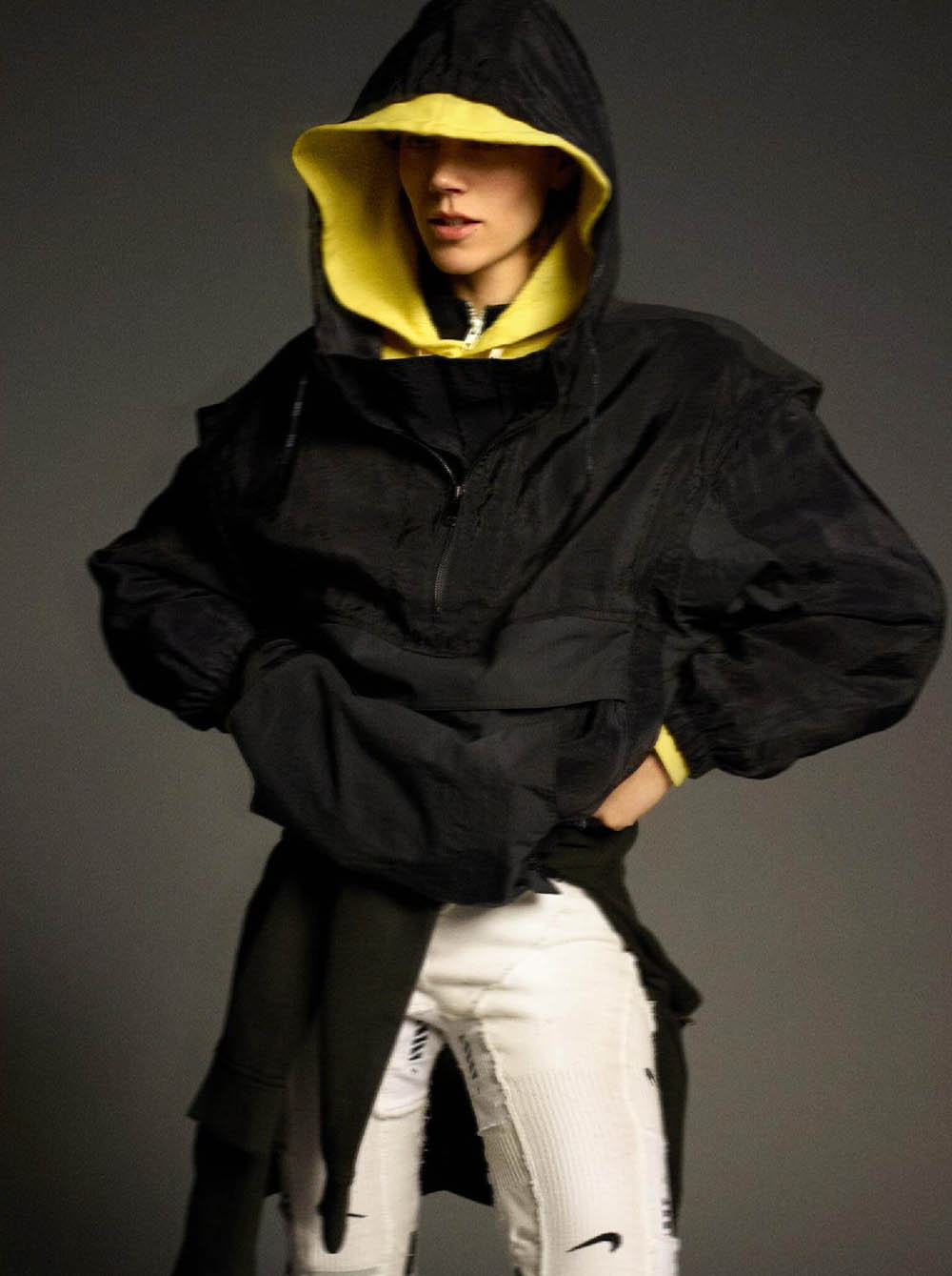 Freja Beha Erichsen by Karim Sadli for Vogue Paris June July 2019