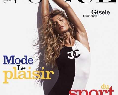 Gisele Bündchen covers Vogue Paris June July 2019 by Mikael Jansson