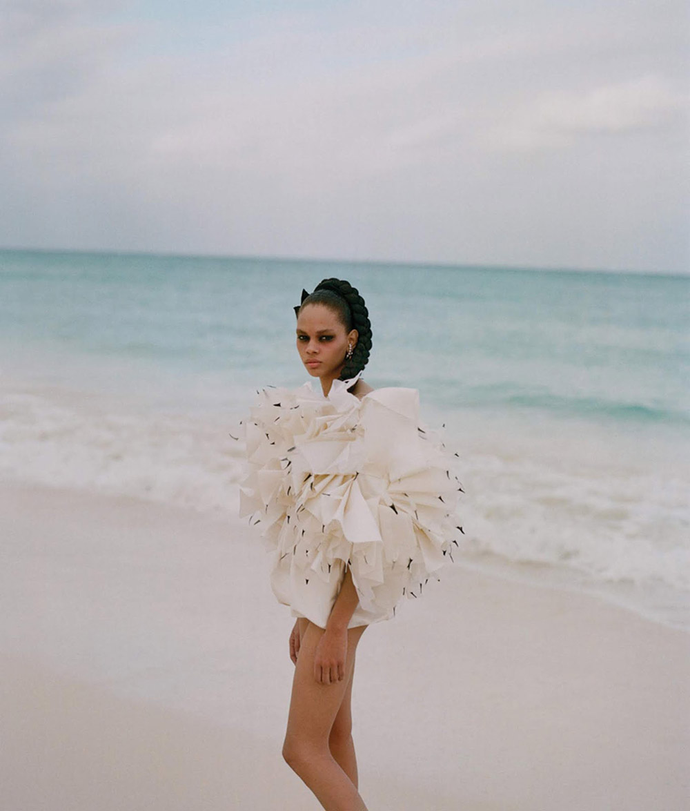 Hiandra Martinez by Dario Catellani for WSJ. Magazine June July 2019