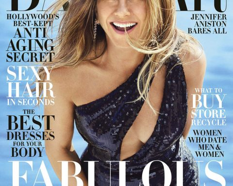 Jennifer Aniston covers Harper's Bazaar US June July 2019 by Alexi Lubomirski