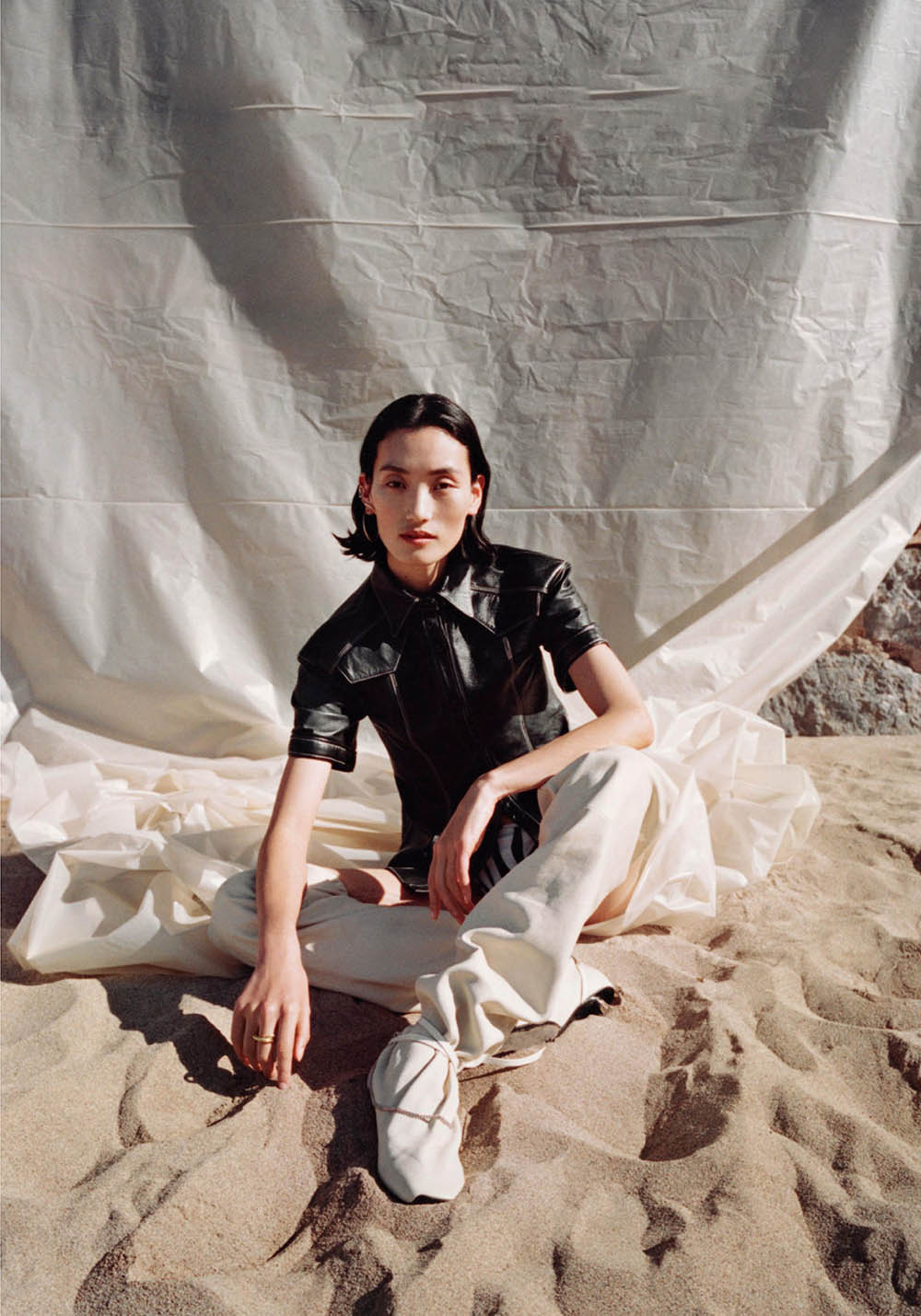 Lina Zhang by Jen Carey for Vogue Netherlands June 2019
