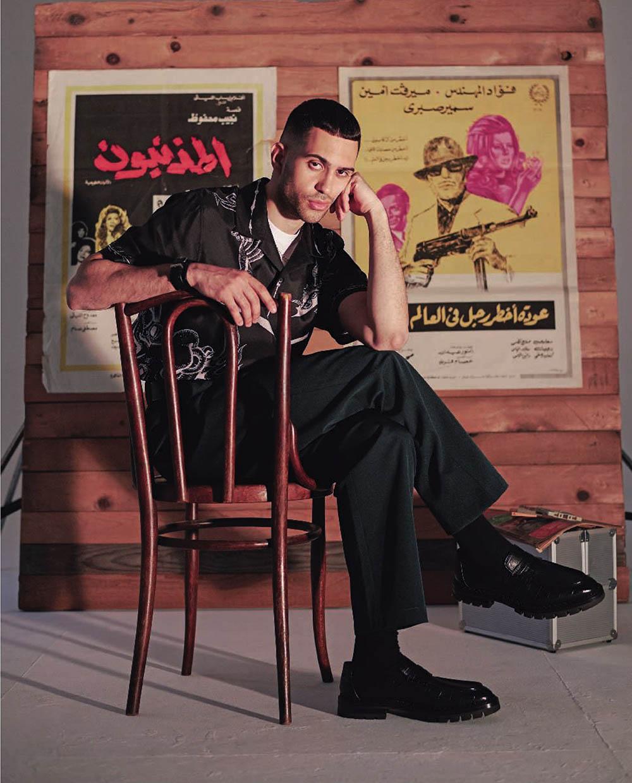 Mahmood covers Esquire Italia June 2019 by Ämr Ezzeldinn