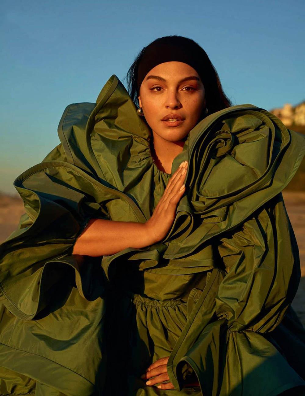 Paloma Elsesser by Thomas Whiteside for Vogue Spain June 2019