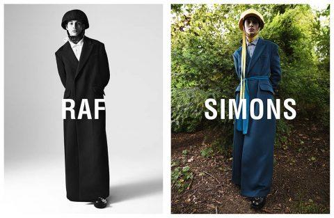 Raf Simons Fall Winter 2019 Campaign