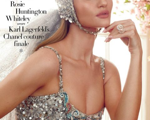 Rosie Huntington-Whiteley covers Harper's Bazaar UK June 2019 by Alexi Lubomirski