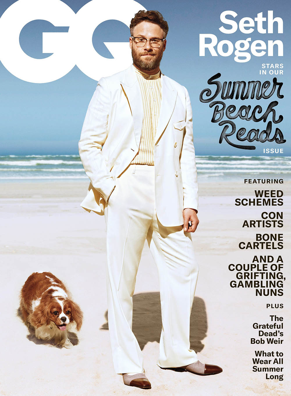 Seth Rogen covers GQ USA June July 2019 by Sebastian Mader