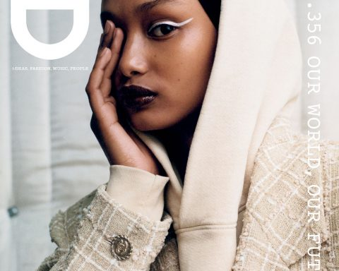Ugbad Abdi covers i-D Magazine Summer 2019 by Zoë Ghertner