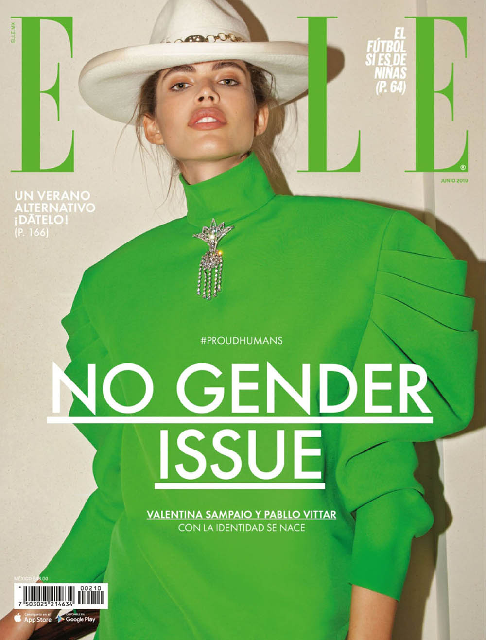 Valentina Sampaio covers Elle Mexico June 2019 by Remember When We Were Young
