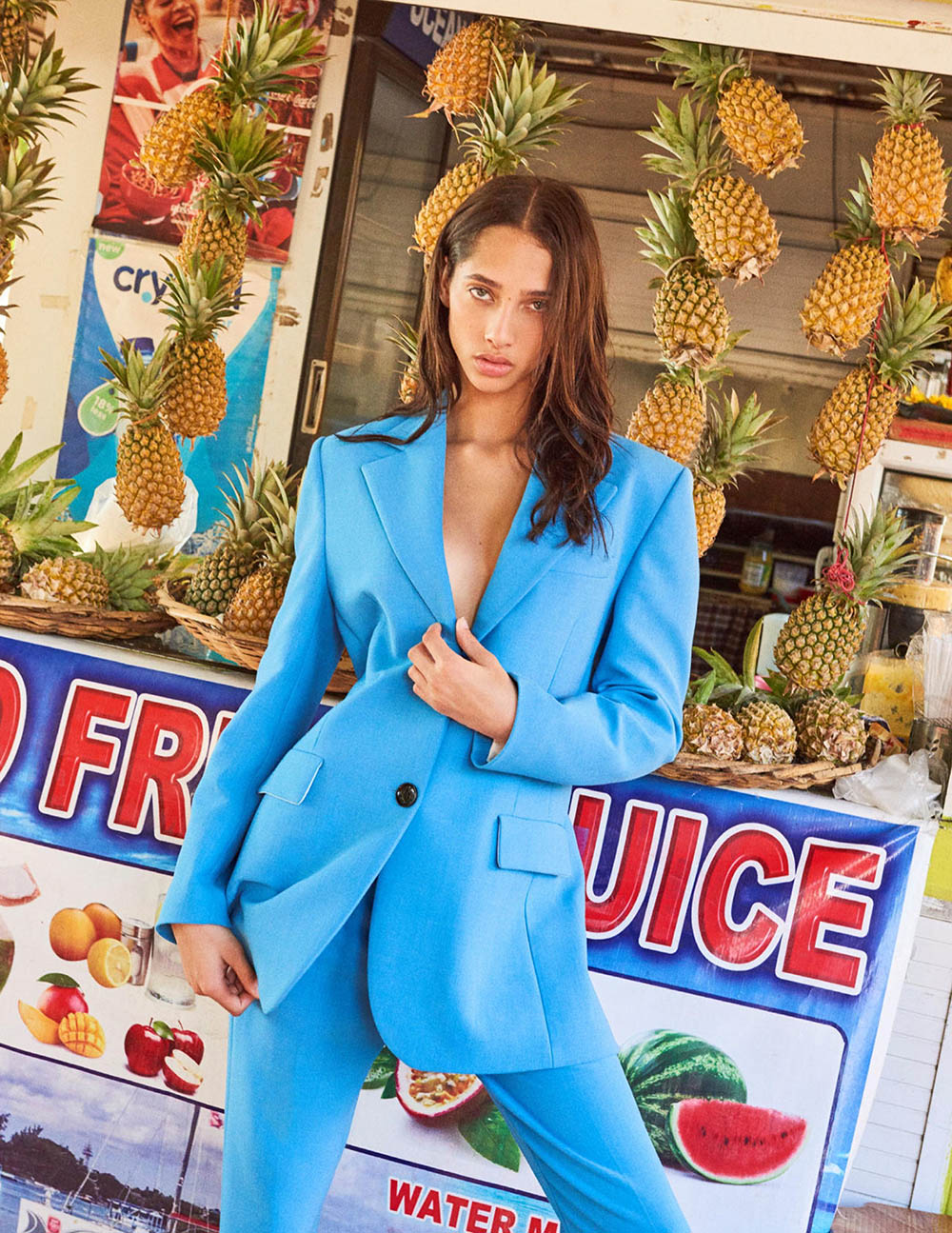 Yasmin Wijnaldum covers Vogue Netherlands June 2019 by Tung Walsh