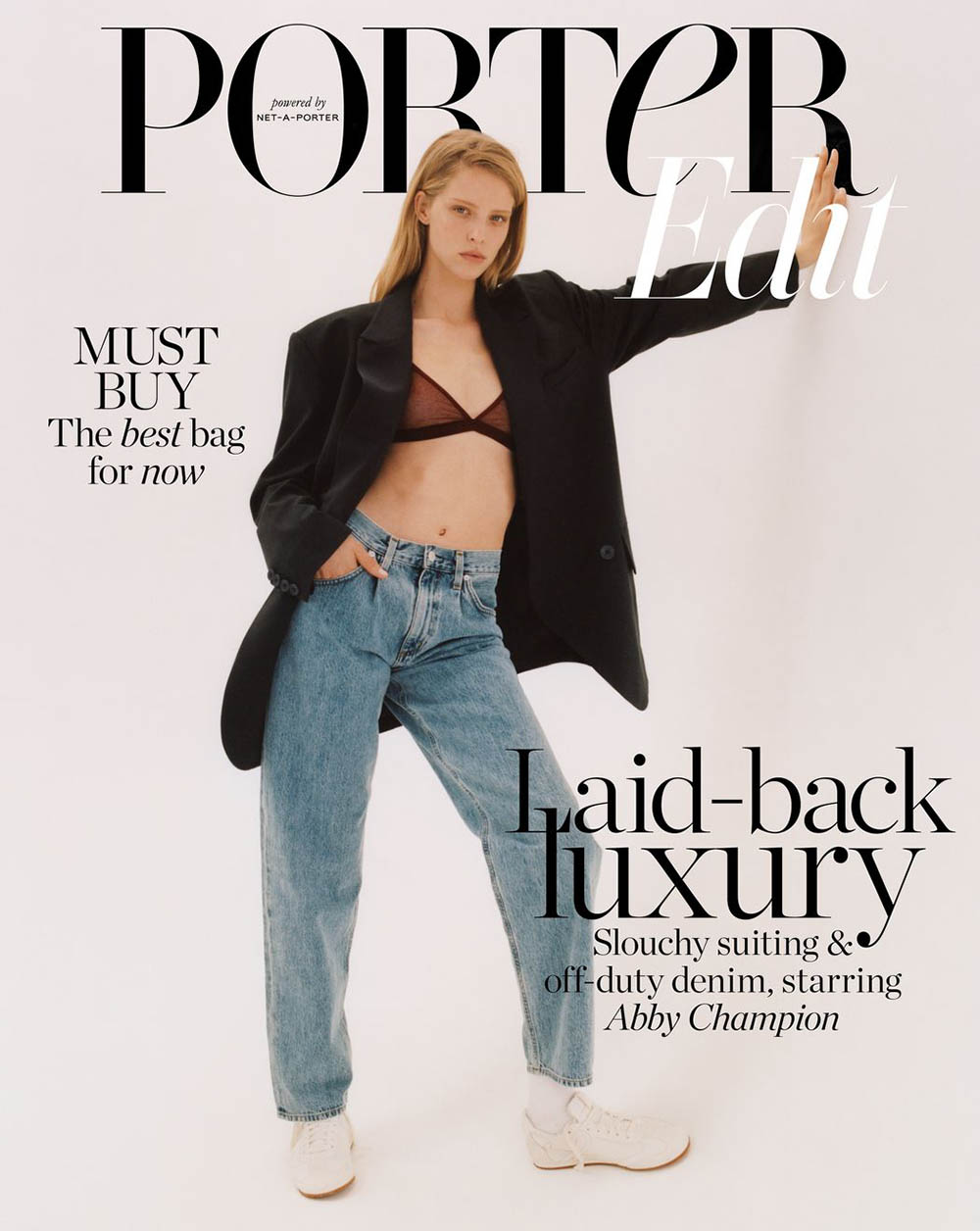 Abby Champion covers Porter Edit July 12th, 2019 by Ben Parks