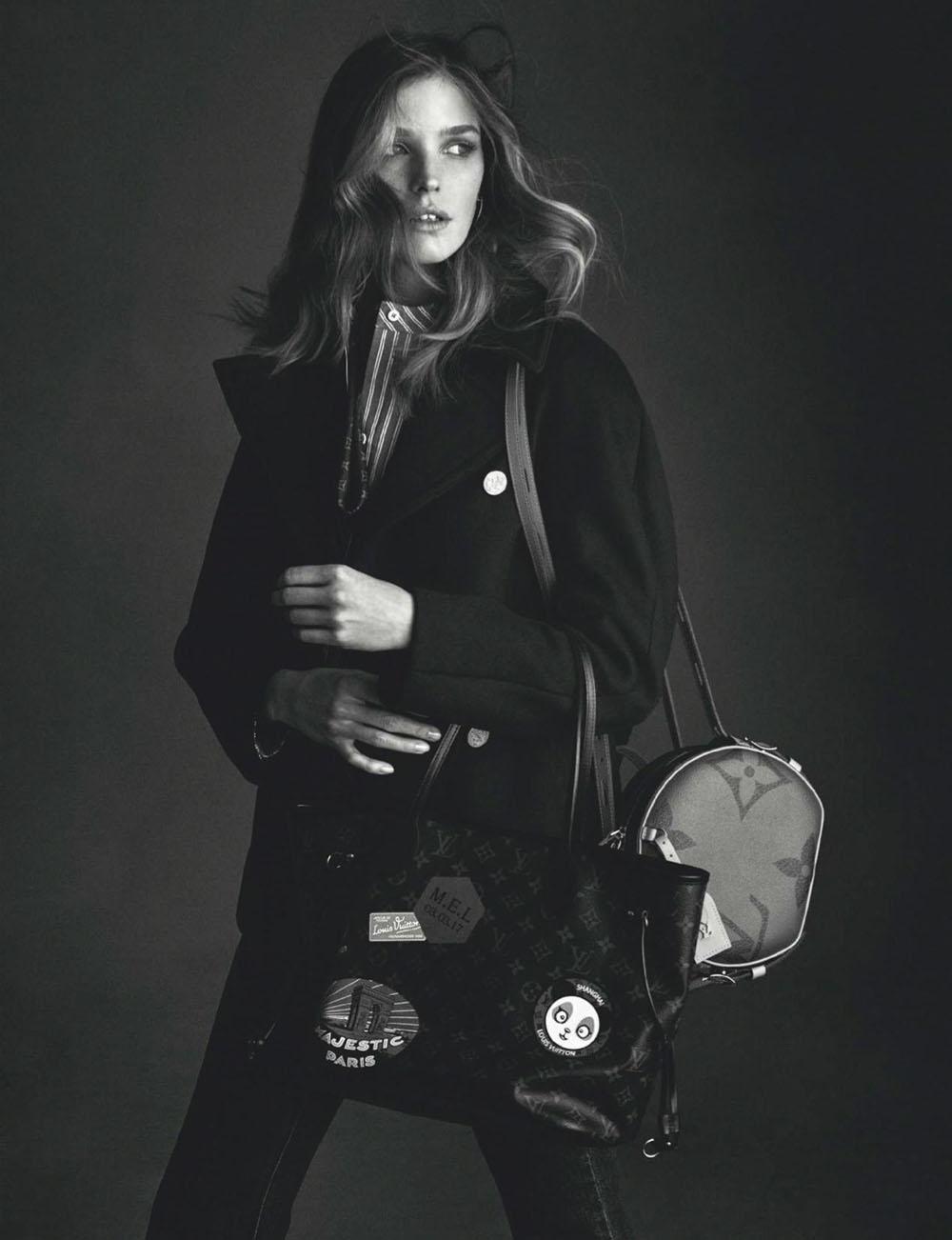 Alisa Ahmann by Andreas Sjodin for Elle Spain and Elle Netherlands July 2019