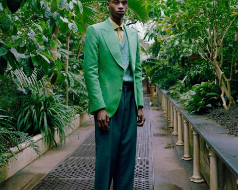 ''Back to the Gardens'' by Chris Brooks for Esquire UK July August 2019