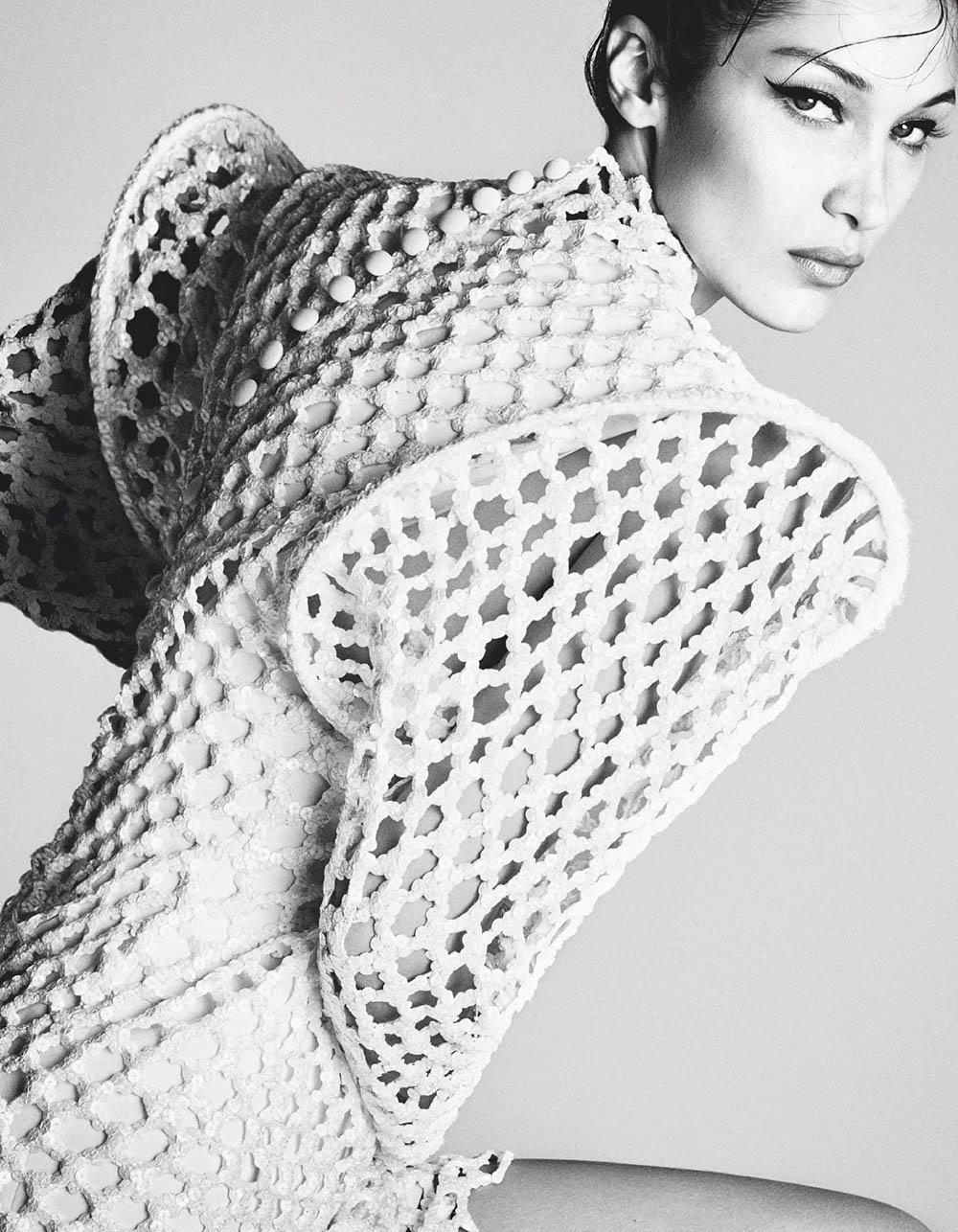 Bella Hadid covers Vogue Japan July 2019 by Luigi & Iango