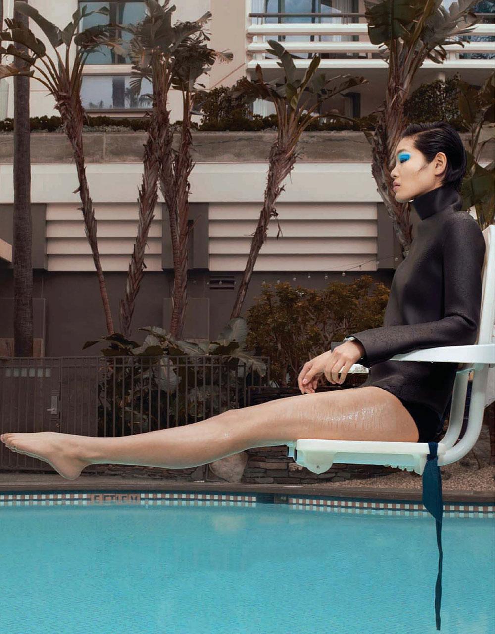 Chiharu Okunugi by Emma Summerton for Vogue China July 2019