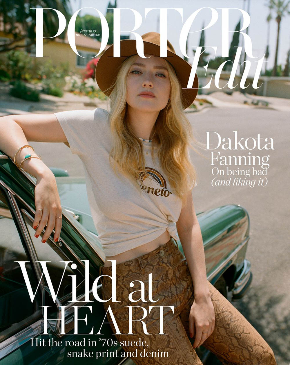 Dakota Fanning covers Porter Edit July 19th, 2019 by Matthew Sprout