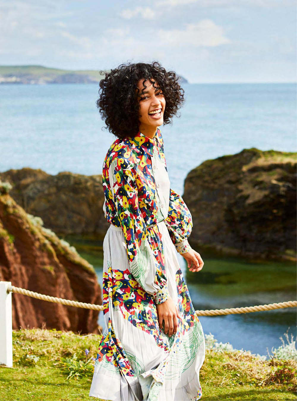 Damaris Goddrie by Josh Shinner for Harper's Bazaar UK July 2019
