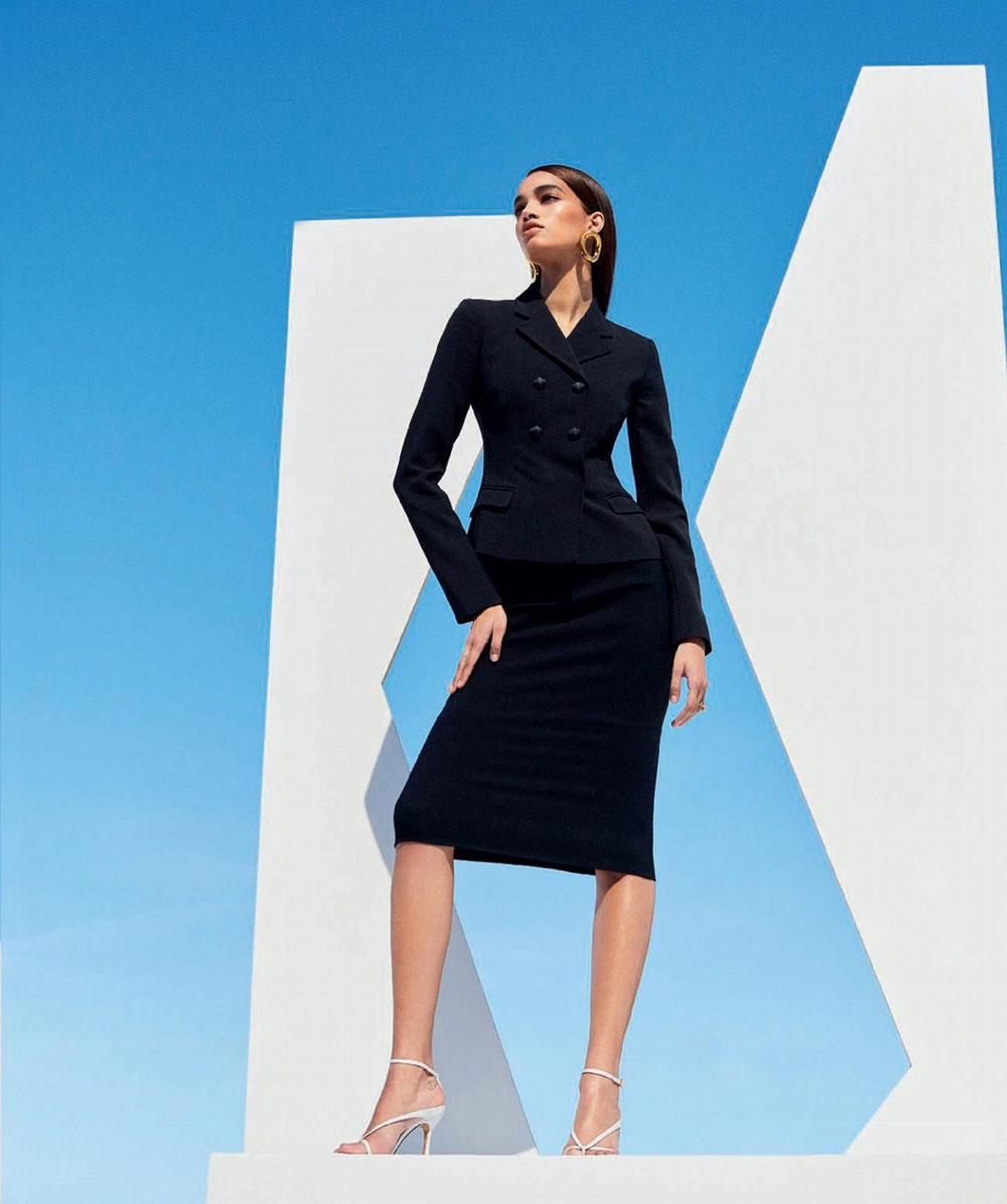 Ellen Rosa by Zoey Grossman for Harper's Bazaar Spain July 2019