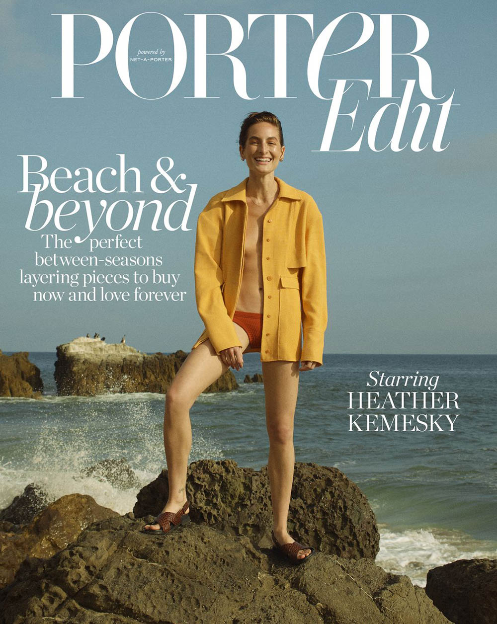 Heather Kemesky covers Porter Edit July 26th, 2019 by Matthew Sprout