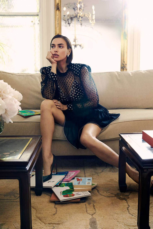 Irina Shayk covers Harper's Bazaar US Summer 2019 Digital Edition by Zoey Grossman