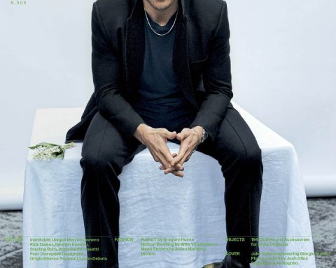 Jake Gyllenhaal covers L'Uomo Vogue July 2019 by Josh Olins