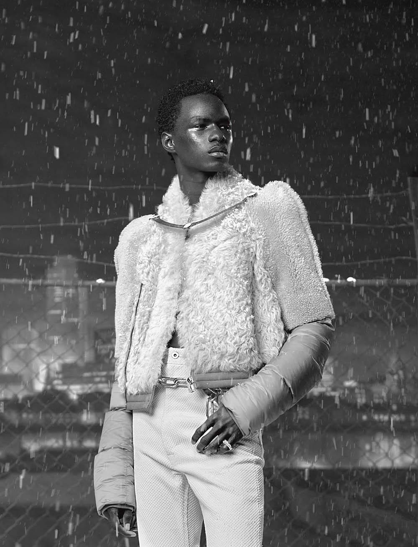 Jonas Glöer covers L'Uomo Vogue July 2019 by Julien Martinez Leclerc