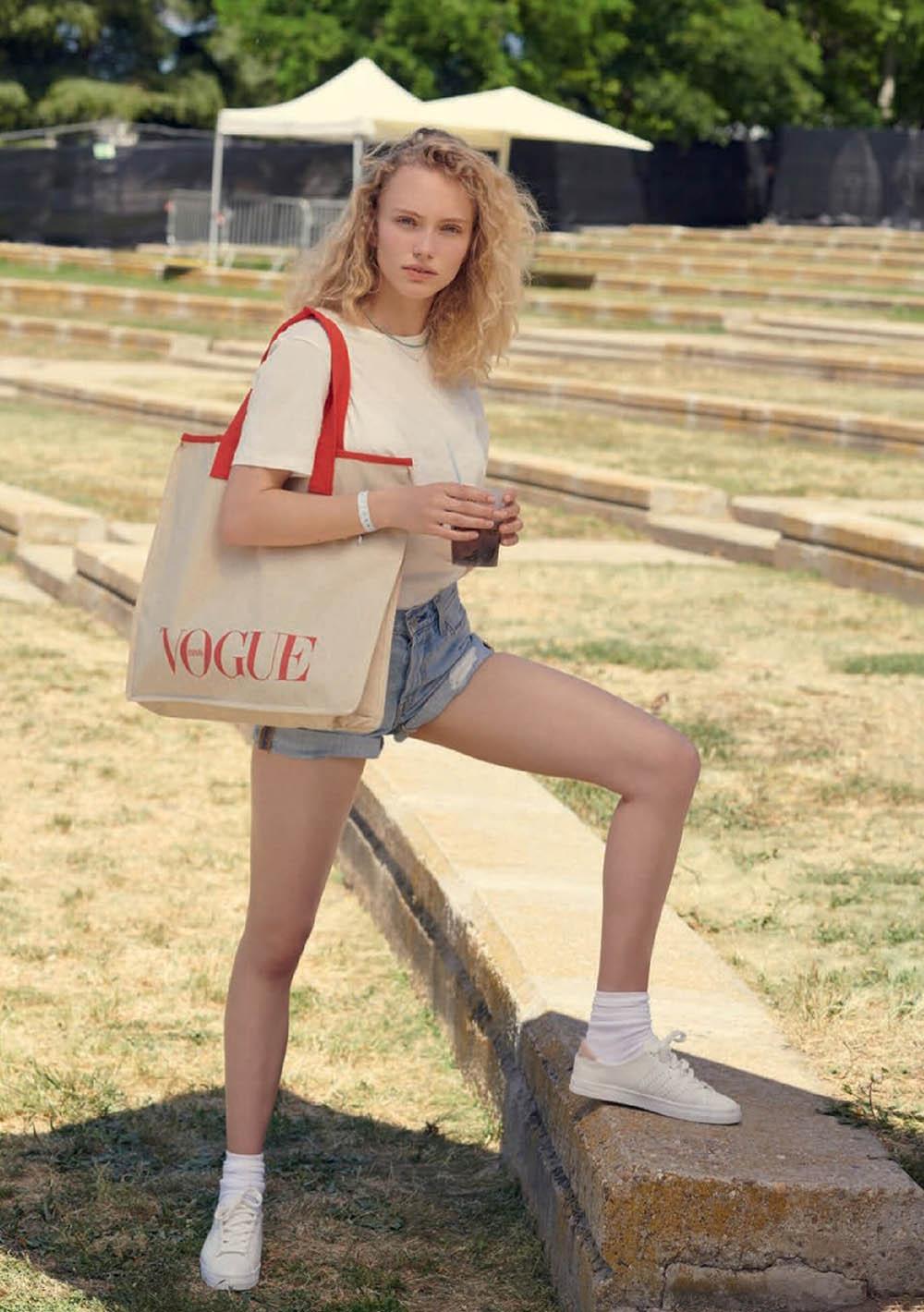 Kim van der Laan by Mel Karch for Vogue Spain July 2019