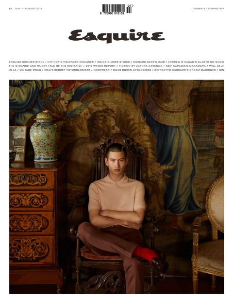 Kohei Takabatake covers Esquire UK July August 2019 by Jesse Laitinen