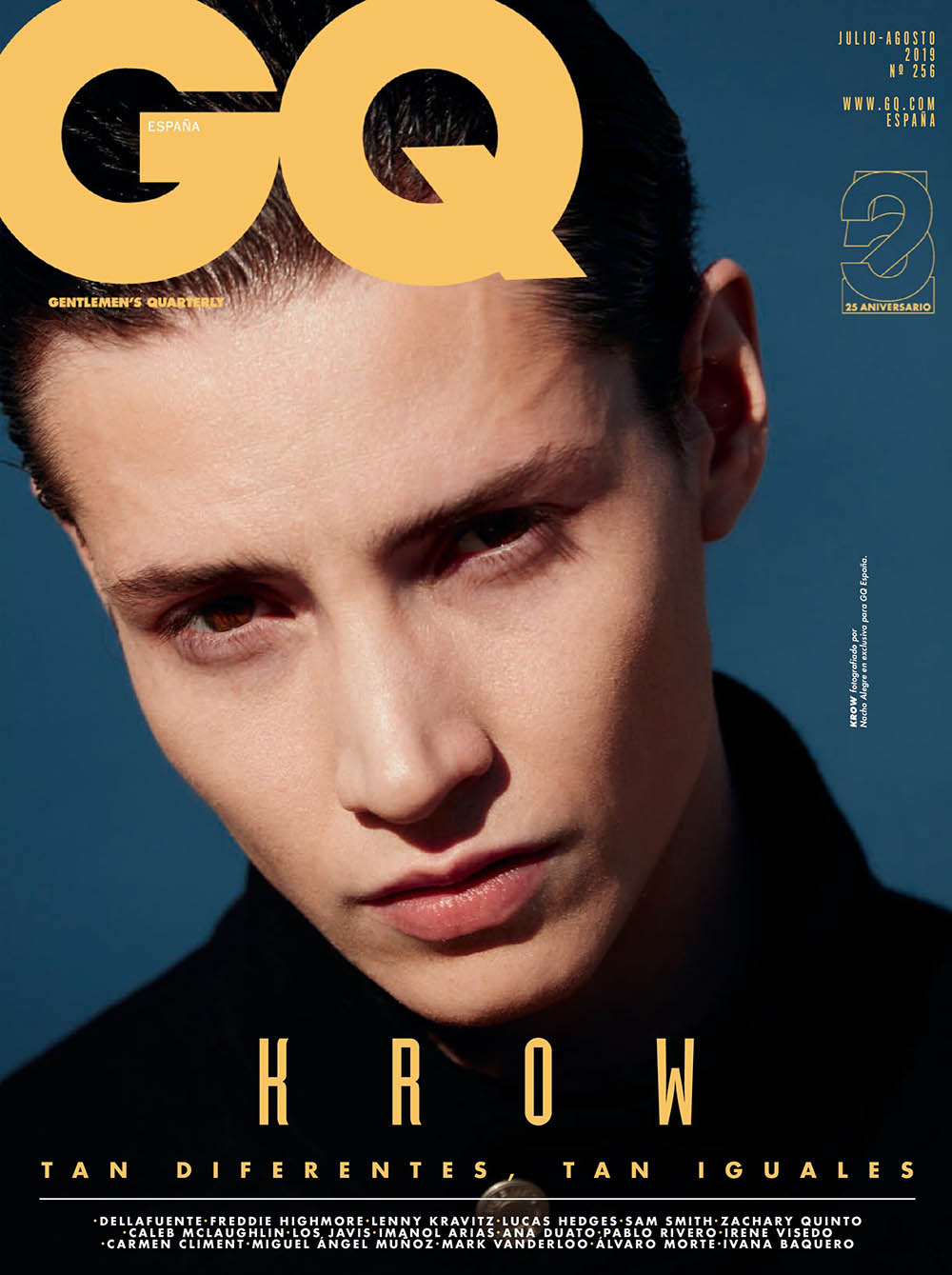Krow Kian covers GQ Spain July August 2019 by Nacho Alegre